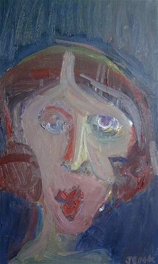 "TIM JENK (American Contemporary) ""HEAD"