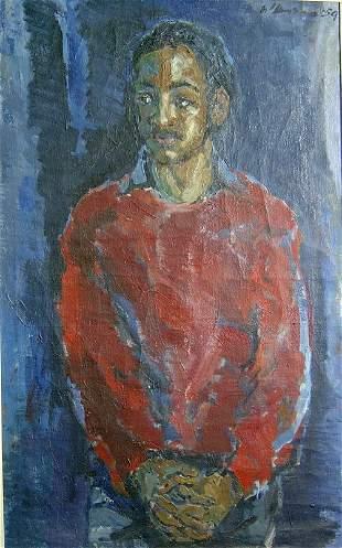 HENK WILLEMESE (Dutch 1915-1980) MAN WE