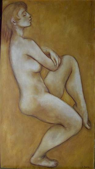 NORMAN LUBOVITCH (20th Century) NUDE s