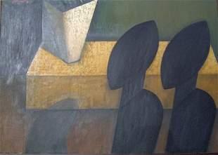 "ROS BLASCO (Contemporary) ""TRESOR CACHE"