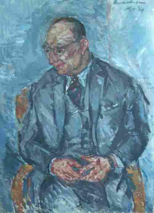 HENK WILLEMESE (Dutch 1915-1980) PORTRA