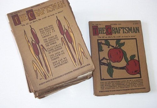 1006: 8 vols. (wrappers.) The Craftsman. New York, Sept