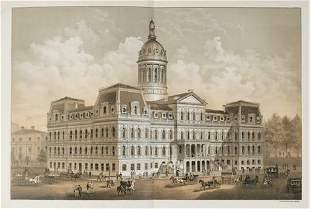 1 vol. [Forrester, A.E.] The City Hall, Baltimore