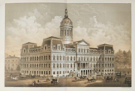 1009: 1 vol. [Forrester, A.E.] The City Hall, Baltimore
