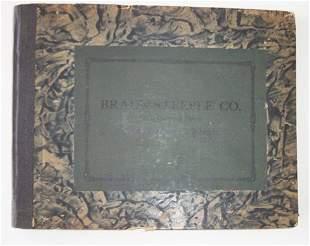 1 vol. (Trade Catalogue.) [Glass Chandelier & Cut