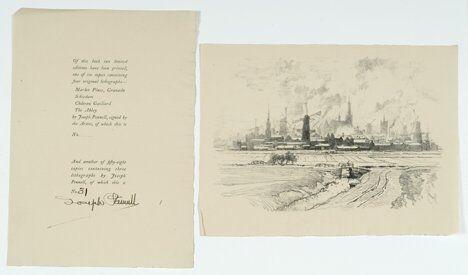 1053: 1 vol. + 1 portfolio. Pennell, Joseph & Elizabeth