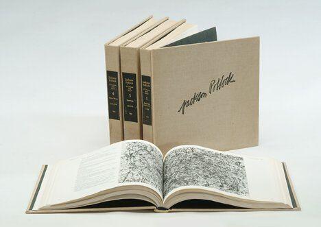 1054: 4 vols. Pollock, Jackson. A Catalogue Raisonne of
