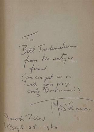 2 vols. (Ted Shawn): Dreier, Katherine S. Shawn T