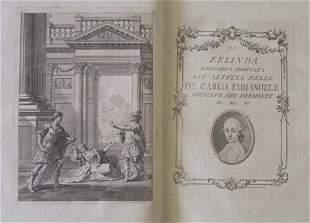 1 vol. (Calini, Orazio.) La Zelinda. (Brescia: G.