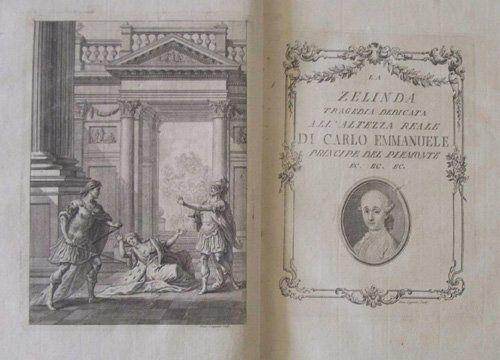 1103: 1 vol. (Calini, Orazio.) La Zelinda. (Brescia: G.