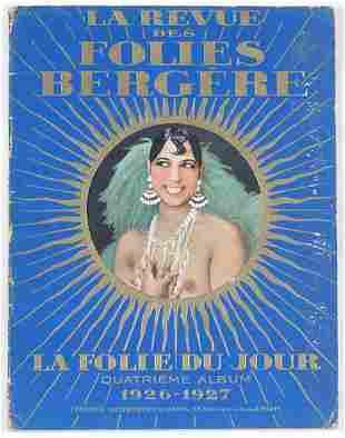 1 vol. (Josephine Baker.) La Revue des Folies Ber