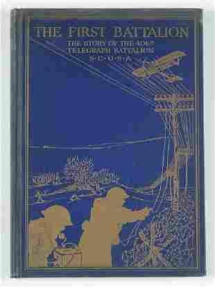 1 vol. Schauble, Peter Lambert. The First Battali