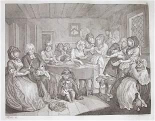 1 vol. (Hogarth, William.) [Works.] N.p.[Germany]