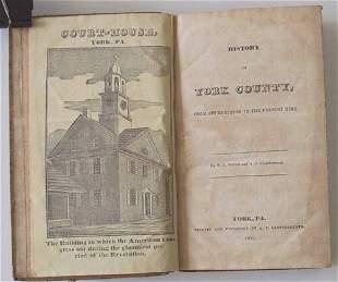 1 vol. (Pennsylvania County & Local History.) Car