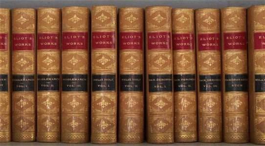 1444: 20 vols. Eliot, George.The Works.Edinburgh 1880