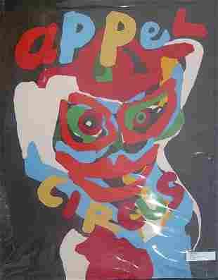 KAREL APPEL (Dutch b. 1921) Appel Circus 1978, pe