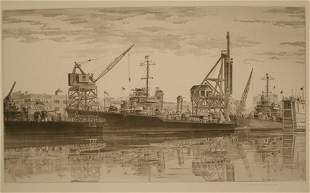 JOHN TAYLOR ARMS (American 1887-1953) Destroyers