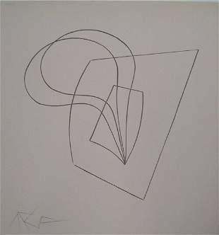 JEAN ARP (French 1887-1966) Pflanzlich-Architekt