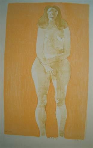LEONARD BASKIN (American 1922-2000) Eve