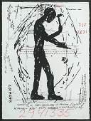 2057: JONATHAN BOROFSKY (American b. 1942) Workers on P