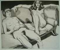 2307 PHILIP PEARLSTEIN American b 1924 Two Models o