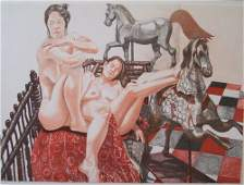 2309 PHILIP PEARLSTEIN American b 1924 Models and H