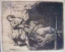 REMBRANDT HARMENSZ VAN RIJN (Dutch 1606-1669) Jos
