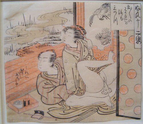 ATTRIBUTED TO ISODA KORYUSAI (Japanese ac: 1760s-