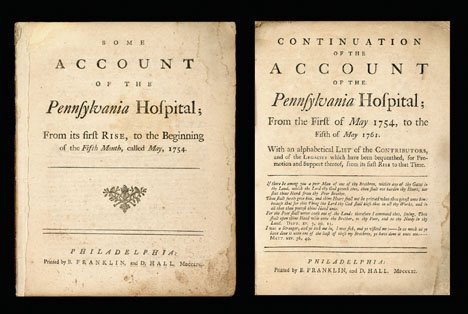 1003: 2 vols. [Franklin, Benjamin]: Some Account of the