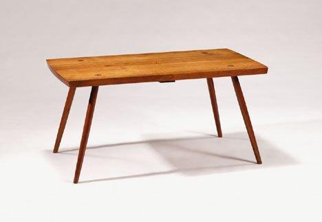 2408: Table by George Nakashima, early studio productio