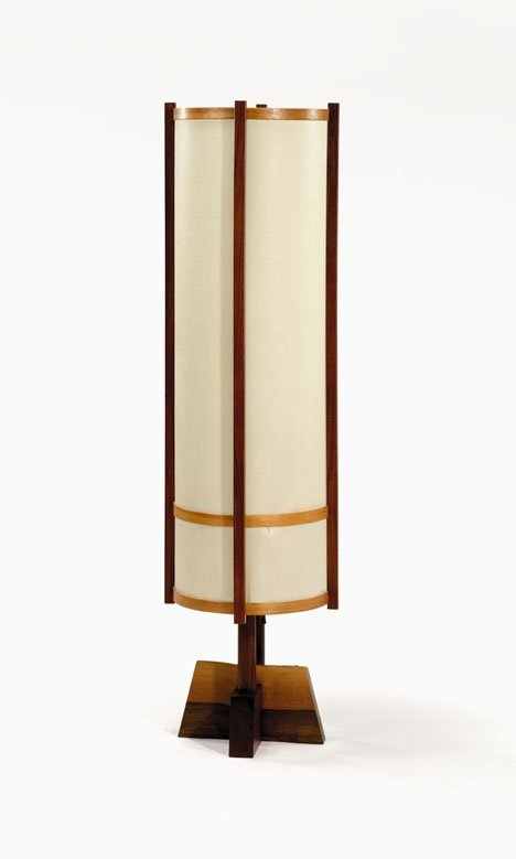 2410: Floor lamp by George Nakashima, 20th century, The