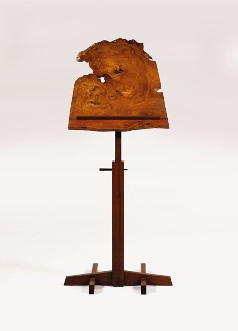 2411: Rare and unusual music stand by George Nakashima,