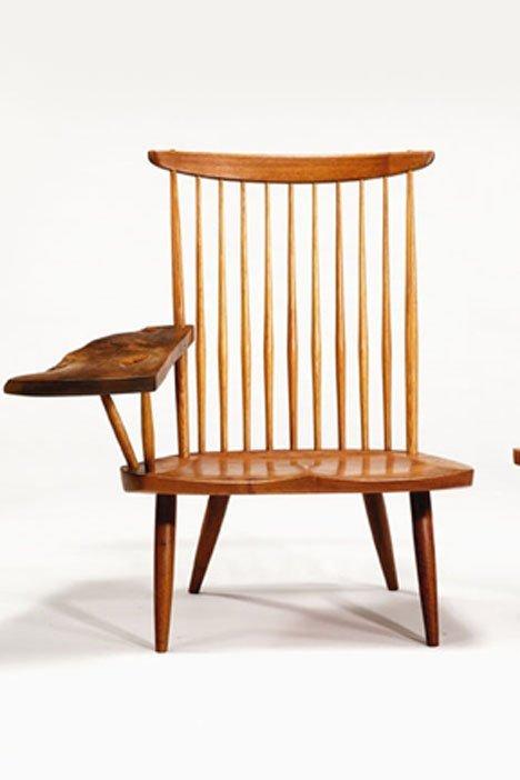 2412: Writing armchair by George Nakashima.