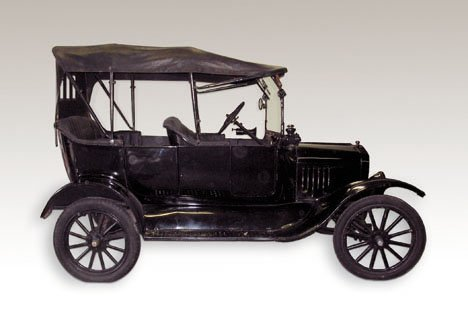 11000: 1917 Ford Model T Touring, w.b.:100 in.; 176.7 c