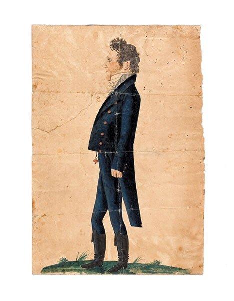 21337: Jacob Maentel (1763 - 1863), portrait of a gentl