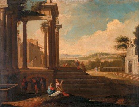 3: FOLLOWER OF VIVIANO CODAZZI, (ITALIAN 1603-1672), CA