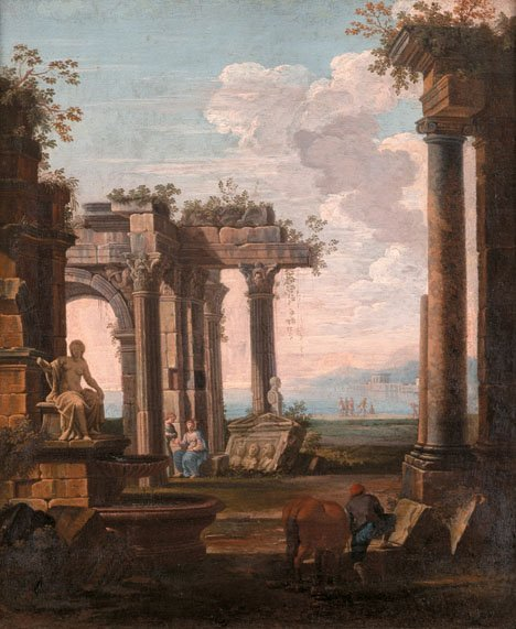 4: FOLLOWER OF GIOVANNI PAOLO PANINI, (ITALIAN 1692-176