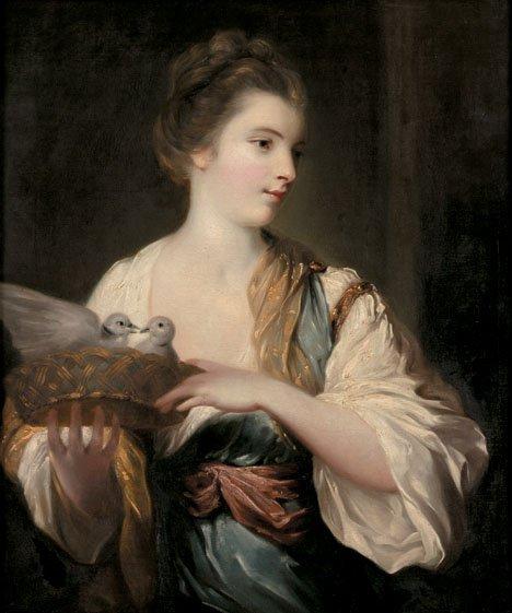 11: ATTRIBUTED TO FRANCIS COTES, (BRITISH 1726-1770), P