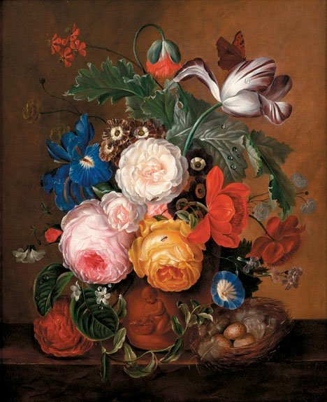 17: ATTRIBUTED TO ADRIANA JOHANNA HAANEN, (DUTCH 1814-1