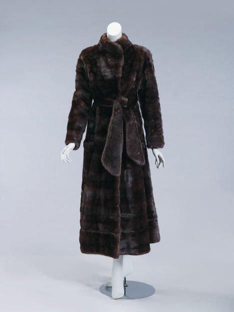 11069: Gellert-Kaden & Rosenblum full-length mink coat,