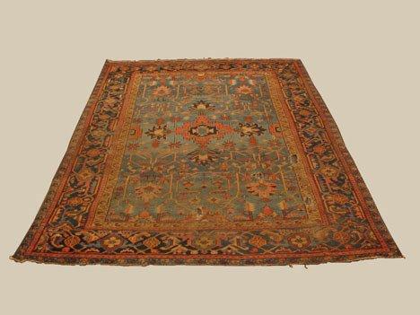 2003: Heriz carpet, northwest persia, circa 1920, Note: