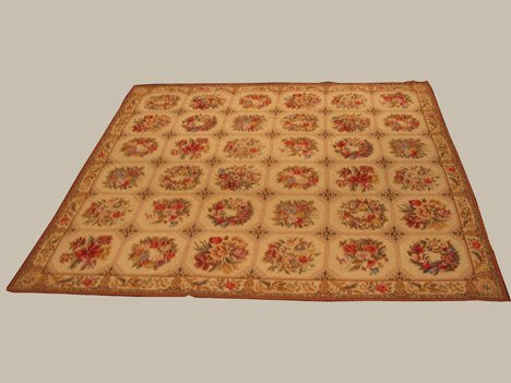 2007: Chinese needlepoint carpet, contemporary,