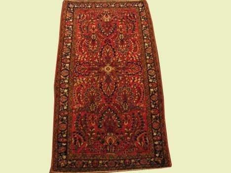 2009A: Sarouk rug, west persia, circa 1920-30,