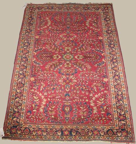 2013: Sarouk rug, west persia, circa 1930,