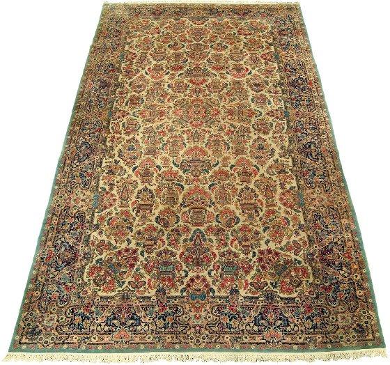 2018: Kerman carpet, southeast persia, circa 1940,