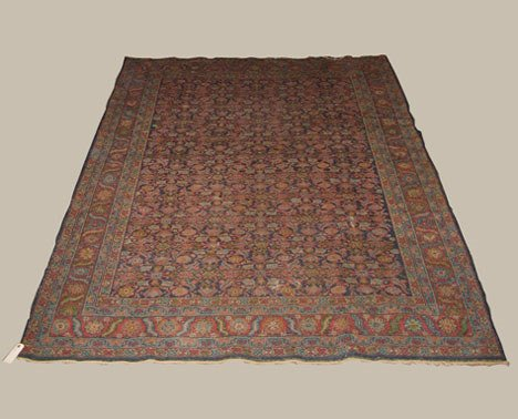2019: Malayer rug, west persia, circa early 20th centur