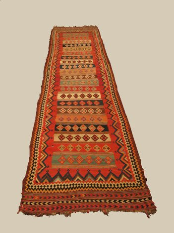 2020: Qashqa'i khilim, southwest persia, circa late 19t