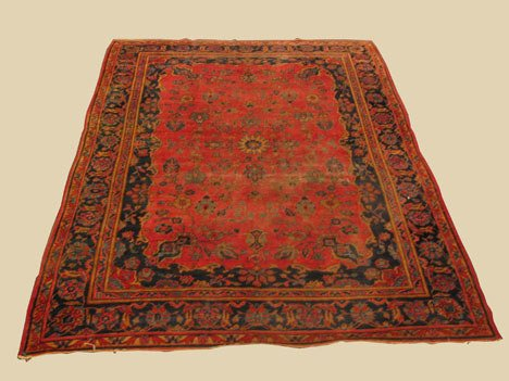 2021: Sarouk carpet, west persia, circa 1930,