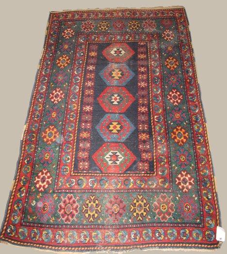 2022: South Caucasian rug, circa 1900,