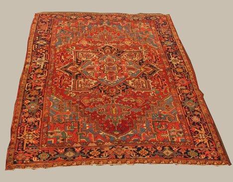 2023: Heriz carpet, northwest persia, circa 1930-40,